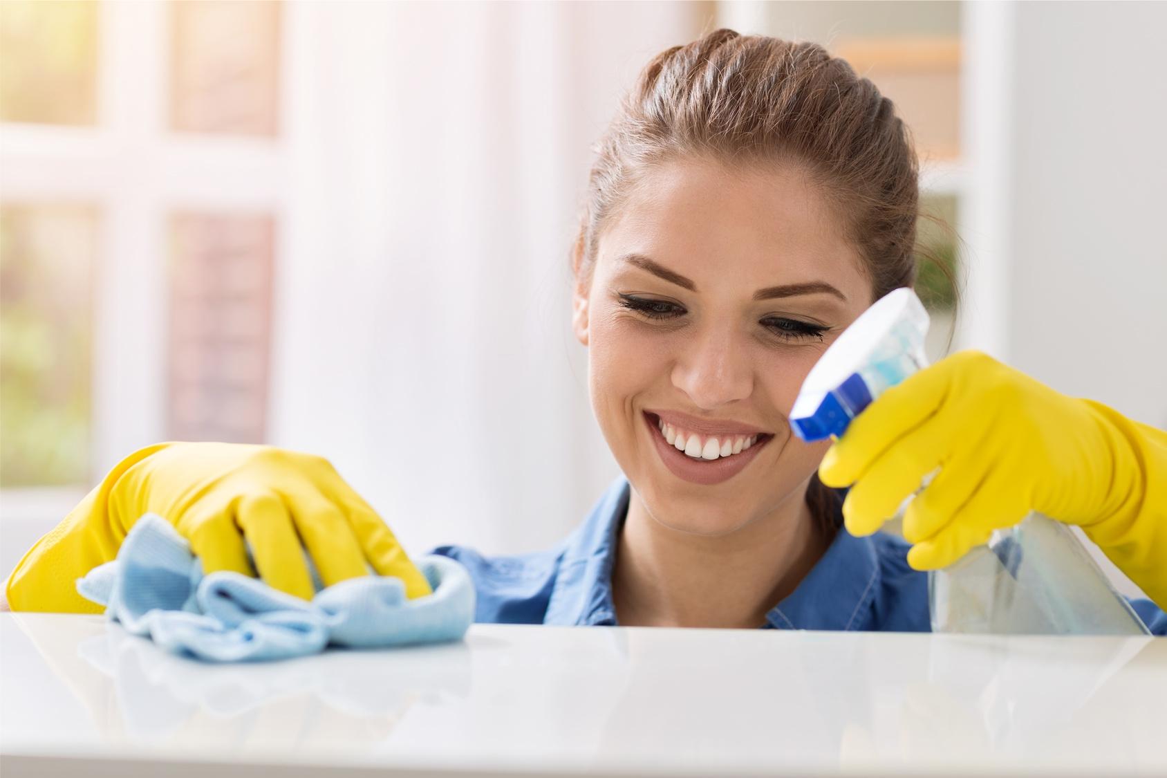 Sprzątanie nieruchomości
